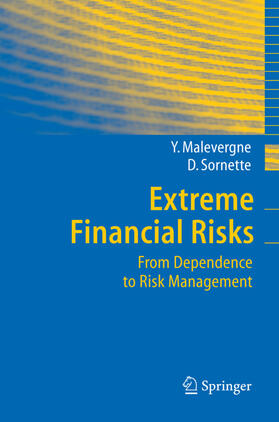 Sornette / Malevergne   Extreme Financial Risks   Buch   sack.de
