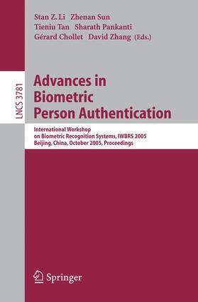 Li / Sun / Tan | Advances in Biometric Person Authentication | Buch | sack.de