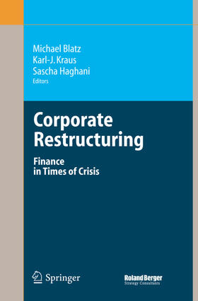 Blatz / Kraus / Haghani   Corporate Restructuring   Buch   sack.de