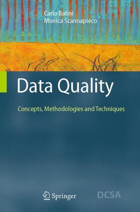 Batini / Scannapieco | Data Quality | Buch | Sack Fachmedien