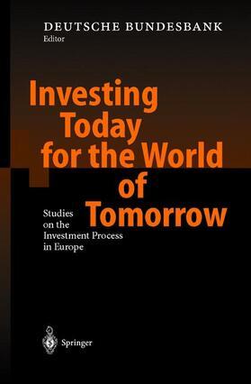 Deutsche Bundesbank   Investing Today for the World of Tomorrow   Buch   sack.de