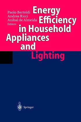 Bertoldi / Ricci / Almeida   Energy Efficiency in Househould Appliances and Lighting   Buch   sack.de