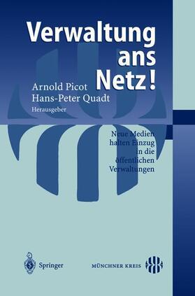 Quadt | Verwaltung ans Netz! | Buch | sack.de