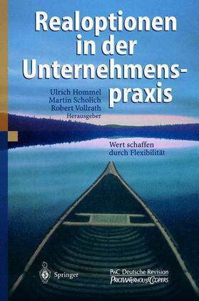 Hommel / Vollrath / Scholich | Realoptionen in der Unternehmenspraxis | Buch | sack.de