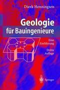 Henningsen    Geologie für Bauingenieure   Buch    Sack Fachmedien