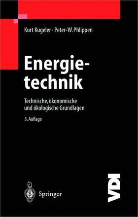Kugeler / Phlippen | Energietechnik | Buch | Sack Fachmedien