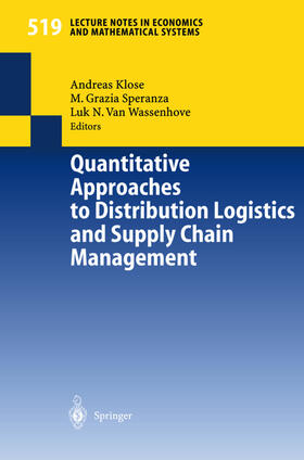 Klose / Wassenhove / Speranza | Quantitative Approaches to Distribution Logistics and Supply Chain Management | Buch | sack.de