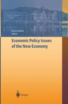 Siebert   Economic Policy Issues of the New Economy   Buch   sack.de