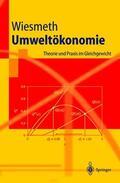 Wiesmeth |  Umweltökonomie | Buch |  Sack Fachmedien