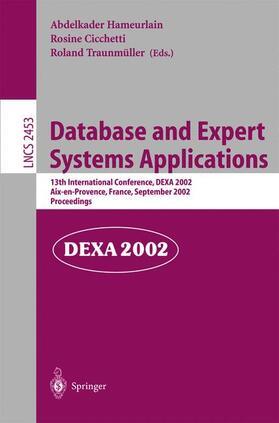 Hameurlain / Cicchetti / Traunmüller | Database and Expert Systems Applications | Buch | sack.de
