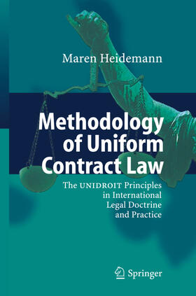 Heidemann | Methodology of Uniform Contract Law | Buch | sack.de