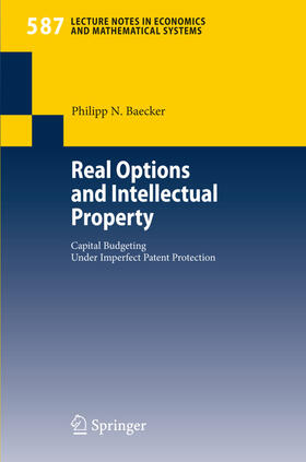 Baecker | Real Options and Intellectual Property | Buch | sack.de