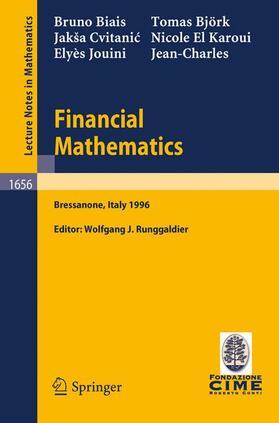 Biais / Björk / Rochet   Financial Mathematics   Buch   sack.de