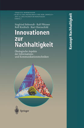 Behrendt / Hornschild / Kreibich | Innovationen zur Nachhaltigkeit | Buch | sack.de