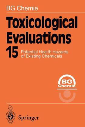Chemie | Toxicological Evaluations | Buch | sack.de