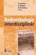 Koehler / Mathes / Breckling    Bodenökologie interdisziplinär   Buch    Sack Fachmedien