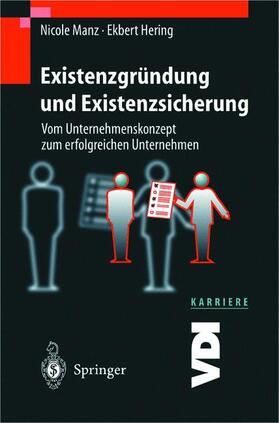 Hering / Manz   Existenzgründung und Existenzsicherung   Buch   sack.de