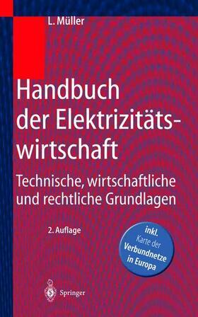 Müller   Handbuch der Elektrizitätswirtschaft   Buch   sack.de