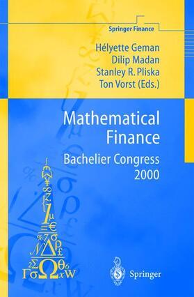 Geman / Vorst / Pliska   Mathematical Finance - Bachelier Congress 2000   Buch   sack.de