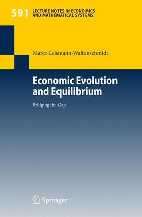 Lehmann-Waffenschmidt   Economic Evolution and Equilibrium   Buch   sack.de