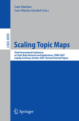 Maicher / Garshol | Scaling Topic Maps | Buch | sack.de