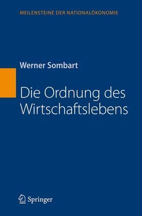 Sombart | Die Ordnung des Wirtschaftslebens | Buch | sack.de