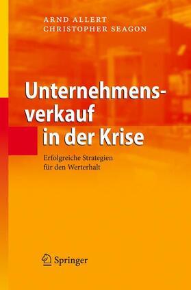 Seagon / Allert   Unternehmensverkauf in der Krise   Buch   sack.de