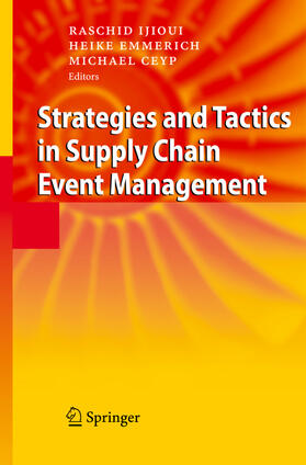 Ijioui / Emmerich / Ceyp   Strategies and Tactics in Supply Chain Event Management   Buch   sack.de