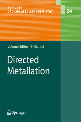 Chatani | Directed Metallation | Buch | sack.de