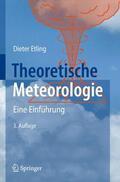 Etling |  Theoretische Meteorologie | Buch |  Sack Fachmedien