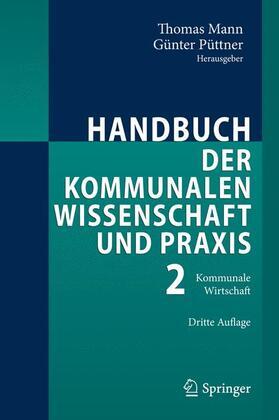 Mann / Püttner | Handbuch der kommunalen Wissenschaft und Praxis 2 | Buch | sack.de
