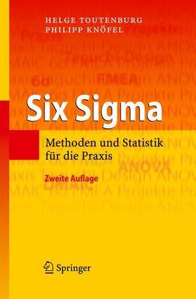 Toutenburg / Knöfel | Six Sigma | Buch | sack.de