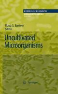 Epstein |  Uncultivated Microorganisms | Buch |  Sack Fachmedien