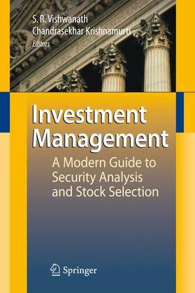 Vishwanath / Krishnamurti   Investment Management   Buch   sack.de