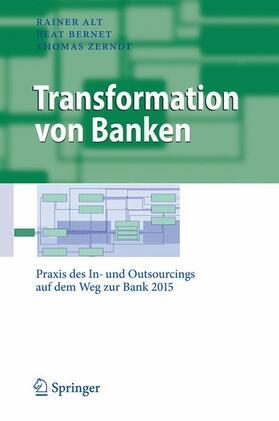 Alt / Bernet / Zerndt   Transformation von Banken   Buch   sack.de