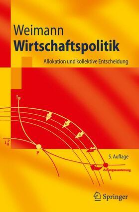 Weimann | Wirtschaftspolitik | Buch | sack.de