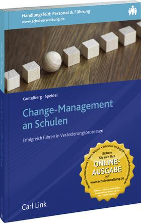 Kantelberg / Speidel   Change-Management an Schulen   Buch   sack.de
