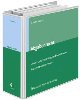 Schwenk | Abgabenrecht in Bayern | Loseblattwerk