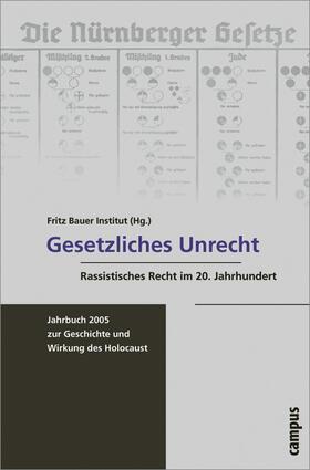 Meinl / Renz / Brumlik   Gesetzliches Unrecht   Buch   sack.de