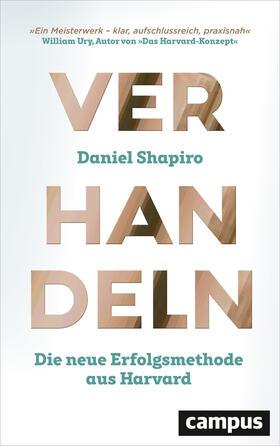 Shapiro | Verhandeln | Buch | sack.de