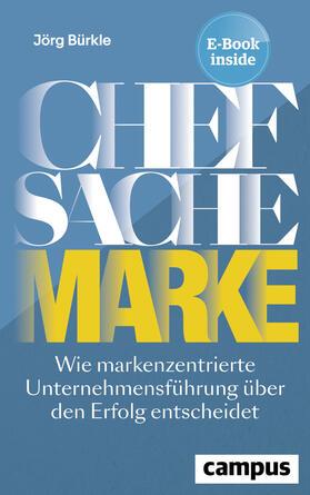 Bürkle   Chefsache Marke   Buch   sack.de