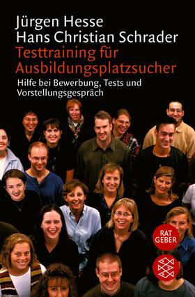 Hesse / Schrader   Testtraining für Ausbildungsplatzsucher   Buch   sack.de