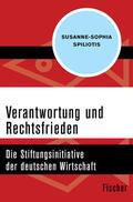 Spiliotis |  Verantwortung und Rechtsfrieden | Buch |  Sack Fachmedien