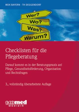 Checklisten für die Pflegeberatung | Buch | sack.de