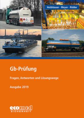 Holzhäuser / Ridder / Meyer | Gb-Prüfung | Buch | sack.de