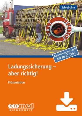 Ladungssicherung - aber richtig! - Download | Datenbank | sack.de