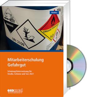 Matthes   Mitarbeiterschulung Gefahrgut - Expertenpaket   Buch   sack.de