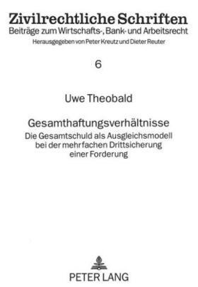 Gesamthaftungsverhältnisse   Buch   sack.de
