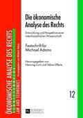 Curti / Effertz |  Die ökonomische Analyse des Rechts | Buch |  Sack Fachmedien