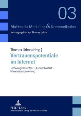 Urban   Vertrauenspotentiale im Internet   Buch   sack.de